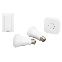 Philips Hue Started Kit - White Ambience Electric Powered 9.5 Watt LED Smart Bulb (White)_1