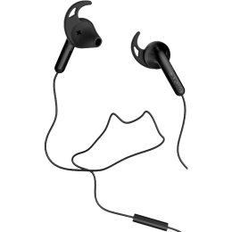 Defunc Go Sport In-Ear Wired Earphones with Mic (Black)_1