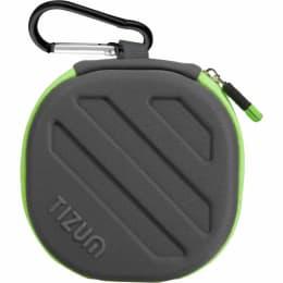 Tizum Earphones Carrying Case (TZ-EHP-G, Black/Green)_1