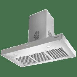 Faber Stilo Slim 3D Plus 1150m³/hr 60cm Wall Mount Chimney (Baffle Filter, T2S2 BK LTW 60, Stainless Steel)_1