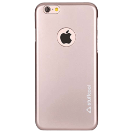 Stuffcool Smooth Back Case Cover for Apple iPhone 6/6S (FLIP647N, Rose Gold)_1