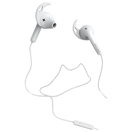 Defunc Go Sport In-Ear Wired Earphones with Mic (White)_1