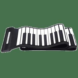 Konix Roll Up 88 Keys Electric Piano (MD88S, Black)_1