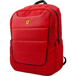 Skywater Ferrari Scuderia Fabric Laptop Backpack (SW-482, Red)_1