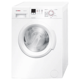 Bosch Serie 2 6 kg Fully Automatic Front Load Washing Machine (Reload Function, WAB16161IN, White)_1