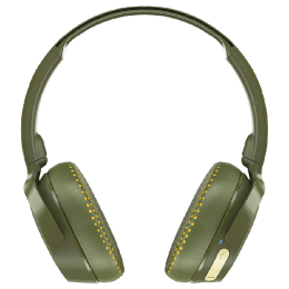 Skullcandy Riff Wireless Headphones (S5PXW-M687, Olive Yellow)_1