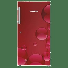 Liebherr 220 Litres 4 Star Direct Cool Single Door Refrigerator (Door Open Alarm, Dr 2220, Red Bubbles)_1
