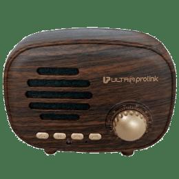 Ultraprolink Retro Portable Bluetooth Speaker (UM0097, Brown)_1