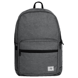 The Souled Store Solids 25 Litres Laptop Backpack (CR204, Classic Grey)_1
