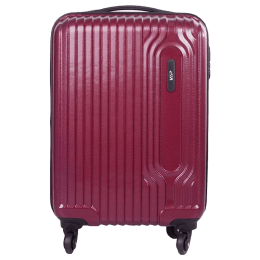 VIP Trace 35 Litres Polycarbonate Trolley Bag (Water Resistant, TRACE55MCD, Maroon)_1