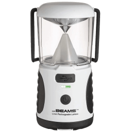Mr. Beams Electric Powered 20 Lumens Rechargeable LED Lantern (MB480R, White)_1