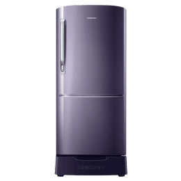 Samsung 192 Litres 3 Star Direct Cool Inverter Single Door Refrigerator (Big Bottle Guard, RR20T282YUT, Pebble Blue)_1