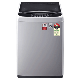 LG 6.5 Kg 5 Star Fully Automatic Top Loading Washing Machine (T65SNSF1Z.ASFQEIL, Middle Free Silver)_1