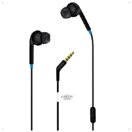 Saregama Carvaan In-Ear Wired Earphones with Mic (EP0001, Classic Black)_1