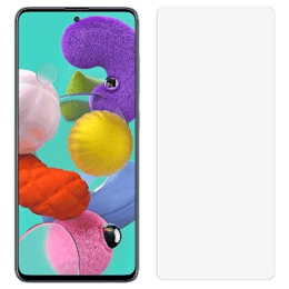 Stuffcool 2.5D Tempered Glass for Samsung Galaxy A51 (MGGP25DSGA51, Clear)_1