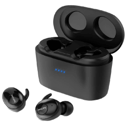 Philips Upbeat In-Ear Truly Wireless Earbuds (SHB2515, Black)_1