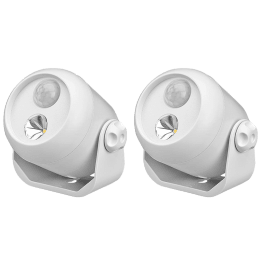 Mr. Beams Electric Powered 1 Watt Motion Sensor Smart Light (MB302, White)_1