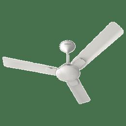 Havells Enticer 120 cm Decorative Ceiling Fan (FHCENSTPWH48, Pearl White Chrome)_1