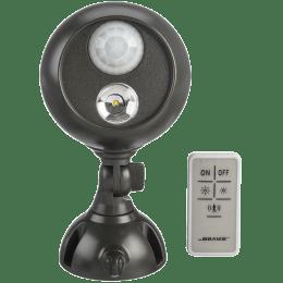 Mr. Beams Electric Powered 50 Watt Remote Control Motion Sensor Smart Light (MB371, Black)_1