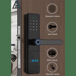 Alta Tecnologia Semi Automatic Digital Lock (DL-217, Black)_1