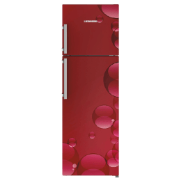 Liebherr 346 Litres 3 Star Frost Free Inverter Double Door Refrigerator (Central Power Cooling, TCr 3520, Red Bubbles)_1