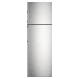 Liebherr 346 Litres 3 Star Frost Free Inverter Double Door Refrigerator (Central Power Cooling, TCss 3540, Stainless Steel)_1