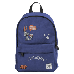 The Souled Store Looney Tunes 12 Litres Mini Backpack (CR202, Blue)_1