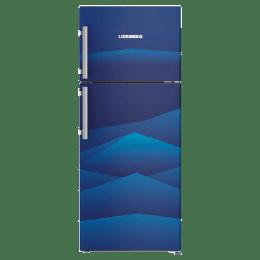 Liebherr 265 Litres 3 Star Frost Free Inverter Double Door Refrigerator (Stabilizer Free Operation, TCb 2640, Blue Landscape)_1