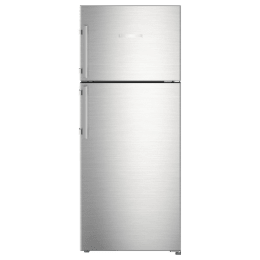Liebherr 265 Litres 3 Star Frost Free Inverter Double Door Refrigerator (Central Power Cooling, TCss 2620, Stainless Steel)_1