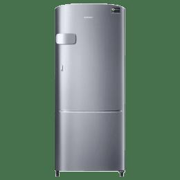 Samsung 212 Litres 3 Star Direct Cool Inverter Single Door Refrigerator (Precise Cooling Plus, RR22T2Y2YS8, Elegant Inox)_1
