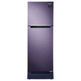 Samsung 253 Litres 2 Star Frost Free Inverter Double Door Refrigerator (Base Stand Drawer, RT28T3122UT/HL, Pebble Blue)_1