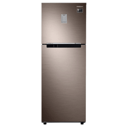 Samsung 253 L 2 Star Frost Free Double Door Inverter Refrigerator (RT28T3722DX/HL, Luxe Brown)_1