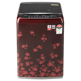 LG 6.5 Kg 5 Star Fully Automatic Top Loading Washing Machine (T65SJDR1Z.ADRQEIL, New Florid Red Pattern)_1
