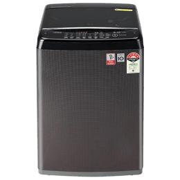 LG 6.5 Kg 5 Star Fully Automatic Top Loading Washing Machine (T65SJBK1Z.ABKQEIL, Black Knight)_1