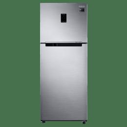 Samsung 394 Litres 3 Star Frost Free Inverter Double Door Refriegrator (Multi Airflow, RT39R551ES8/TL, Inox)_1