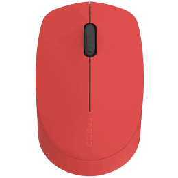 Rapoo M100 1300 DPI Bluetooth Wireless Mouse (Red)_1