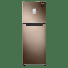 Samsung 244 L 2 Star All-Around Cooling Double Door Inverter Refrigerator (RT28T3522DU/HL, Luxe Bronze)_1