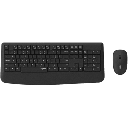 Rapoo 1000 DPI Wireless Optical Keyboard & Mouse Combo (X1900, Black)_1