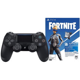 Sony Fortnite Bundle Wireless Controller For PS4 (5 Meter Operating Range, Dualshock 4, Jet Black)_1