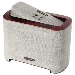 Lumiford Stereo Subwoofer Docking Wireless Speaker (BT04, Light Grey)_1