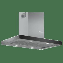 Bosch Serie 4 745 m3/hr 90cm Island Chimney (4 Fan Speed Settings, DIB098G50I, Stainless Steel)_1