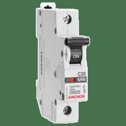 Anchor Uno 16A SP - C Type MCB (98003, White)_1