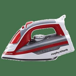 Morphy Richards 1600 Watt Steam Iron (Ultra Glide, Red)_1