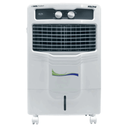 Voltas 28 Litres Personal Air Cooler (Honeycomb Cooling Pads, Alfa 28, White)_1