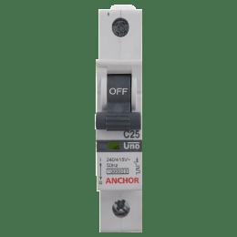 Anchor Uno 25A SP - C Type MCB (98005, White)_1