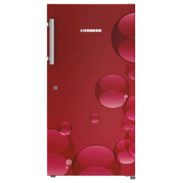 Liebherr 220 Litres 4 Star Direct Cool Single Door Refrigerator (Spice Boxes, Dr 2240, Red Bubbles)_1