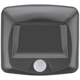 Mr. Beams Electric Powered 35 Lumens Wireless Motion Sensor LED Step and Stair Light (MB520, Black)_1