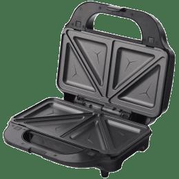 Wonderchef Prato 830 Watt 4 Slice 3-in-1 Sandwich Maker (63152644, Black)_1