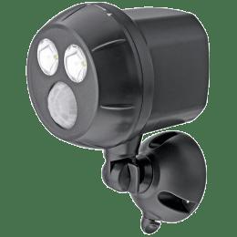 Mr. Beams Electric Powered 400 Lumens Wireless Motion Sensor Spot Light (MB390, Black)_1