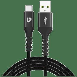 Ultraprolink 150 cm Type-C Cable (Nylokev-C Plus, Black)_1
